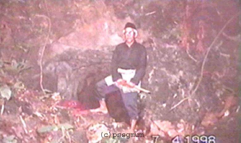 Gua Daeng Kuning di Bukit Larut
