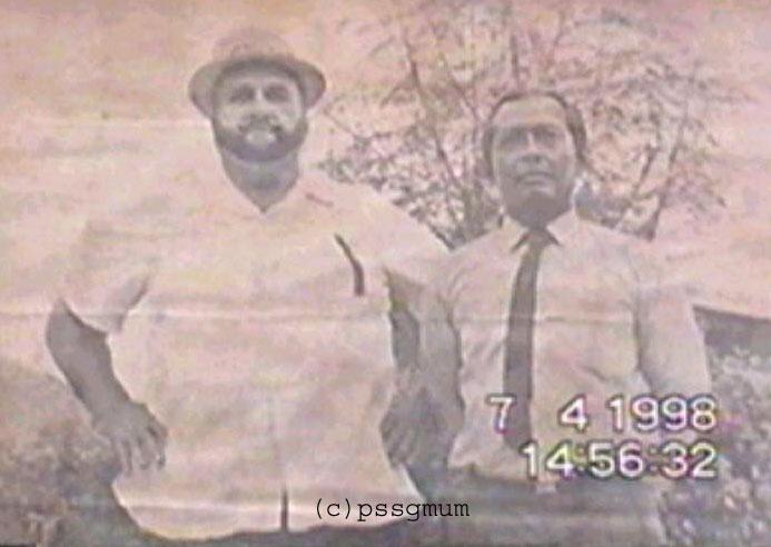 Meor Rahman bersama Juara Gusti Dunia, King Kong