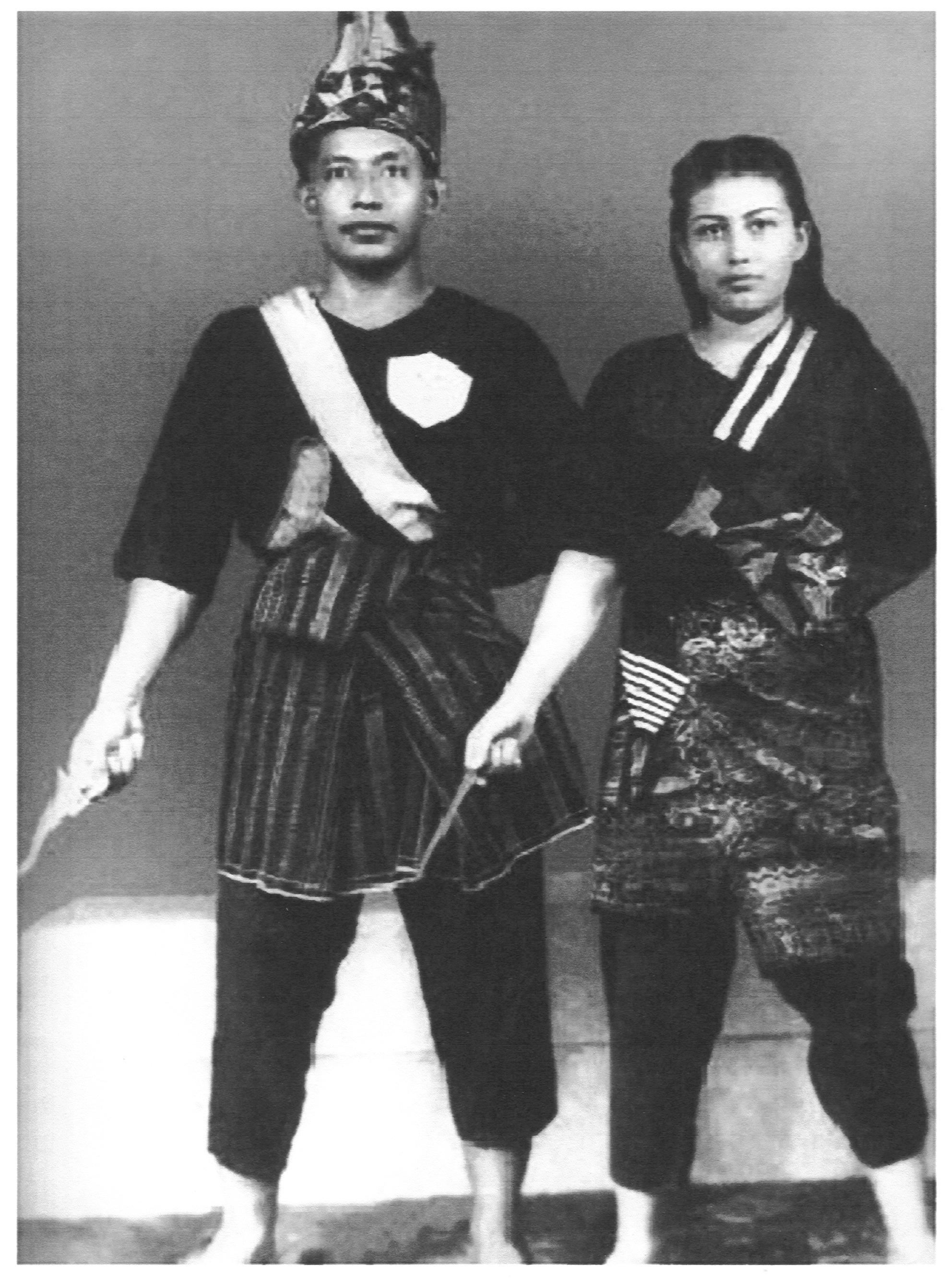 Mahaguru bersama Seniwati Kasma Booty(1955)